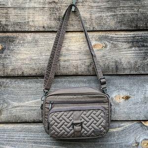 Lug Carousel Crossbody Belt Bag in Walnut Brown